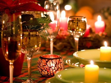 Table décoration Noel